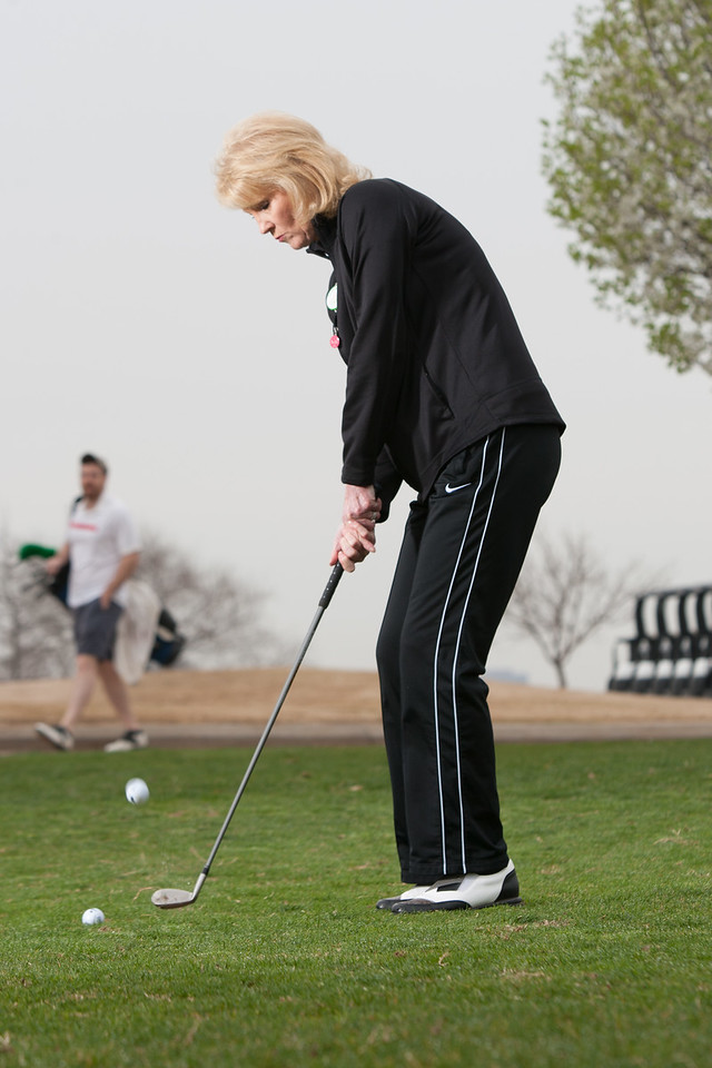 Cindy Johnson is president of the Executive Woman Golf Association's Oklahoma CIty chapter.