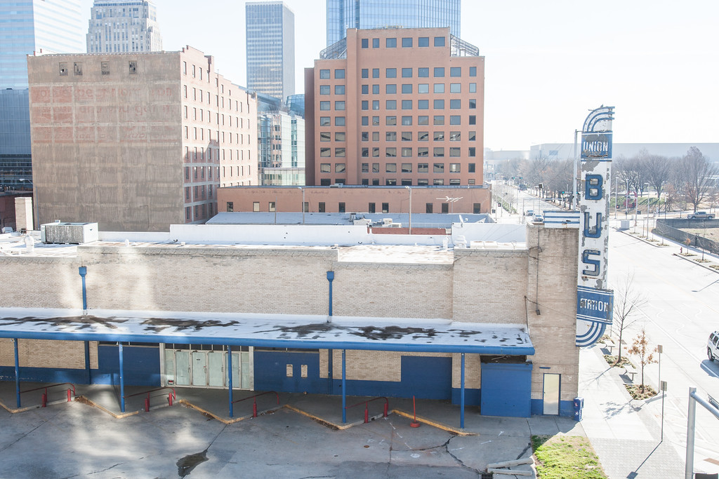 The City of Oklahoma City has approved permits for demolition of several building along W Sheridan Avebetween Hudson Ave and Walker Ave.