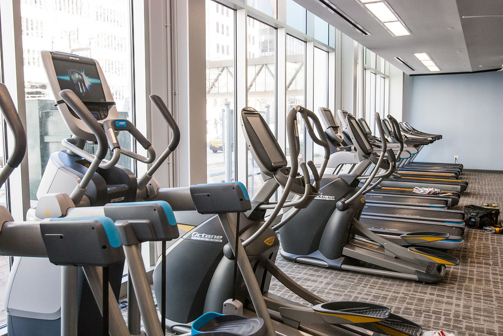 The new YMCA location located at 101 W Main in downtown Oklahoma CIty.