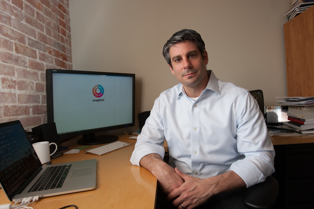 Dave King, Founder and CEO of Exaptive in Oklahoma City, OK.
