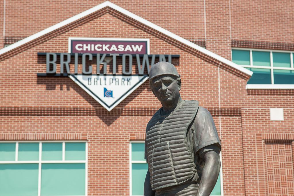 The Chickasaw Bricktown Ballpark in downtown Oklahoma City, OK