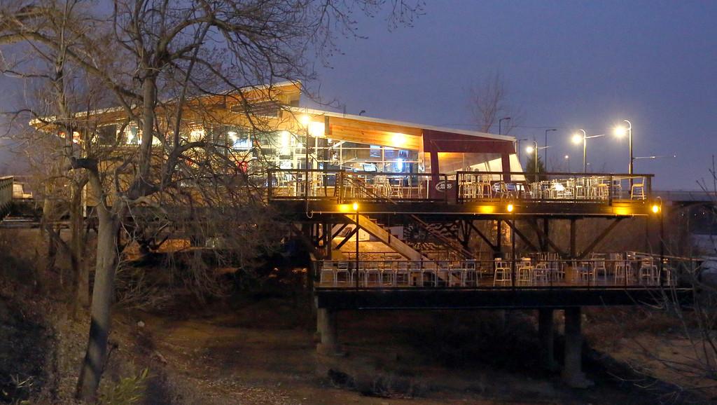 The Blue Rose restaurant in Tulsa.