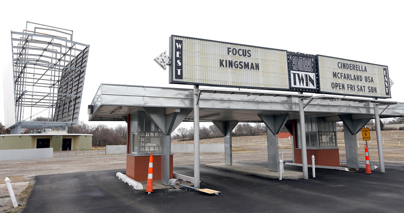 Th Admiral Twin Drive-in Theatre in Tulsa will begin its summer season with weekend showings this beginning this Friday with daily screenings beginning May 1st..