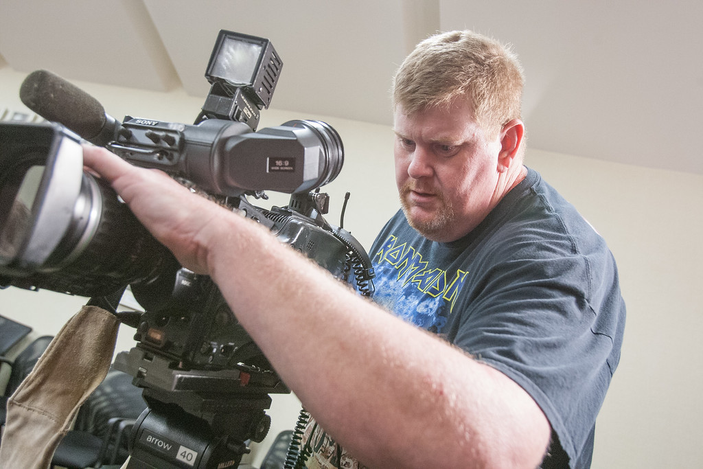 Aaron Byrd is a videographer with OETA in Oklahoma CIty.
