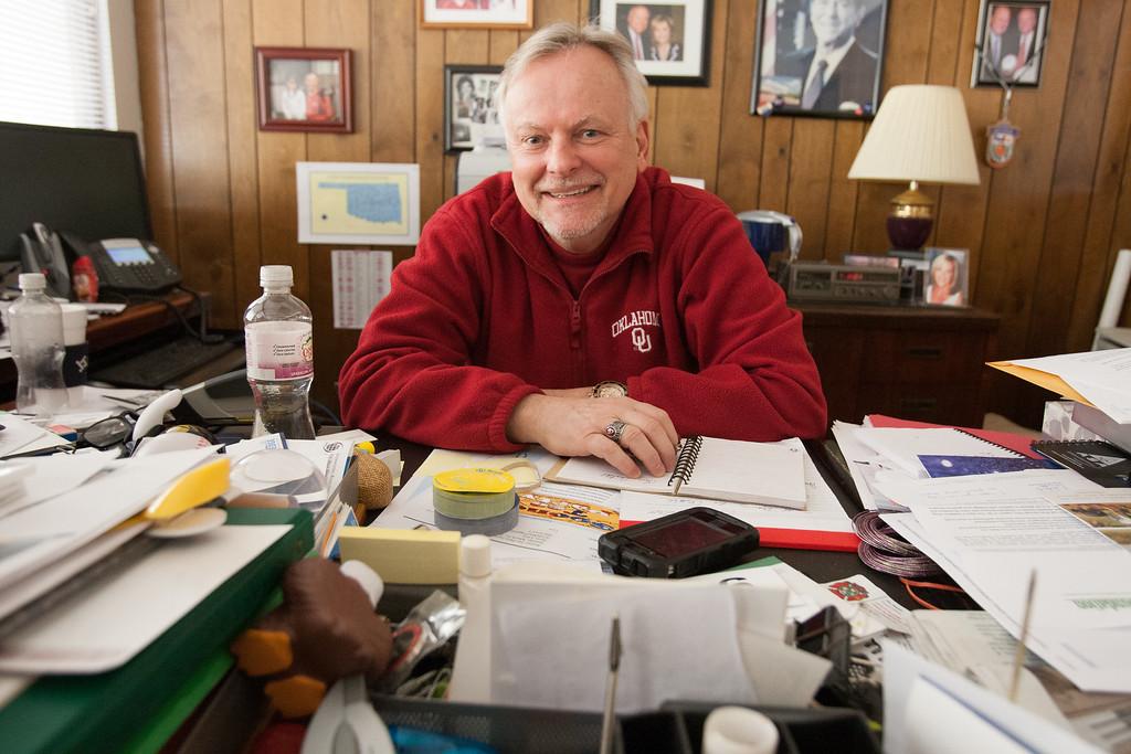 Larry Stien, deputy county assesor for Oklahoma County.
