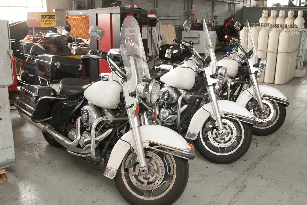 "The City of Oklahoma City is autioning three surplus 2012 Harley-Davidson motorcylces at <a href=""http://www.okc.gov/surplus"">http://www.okc.gov/surplus</a> ."