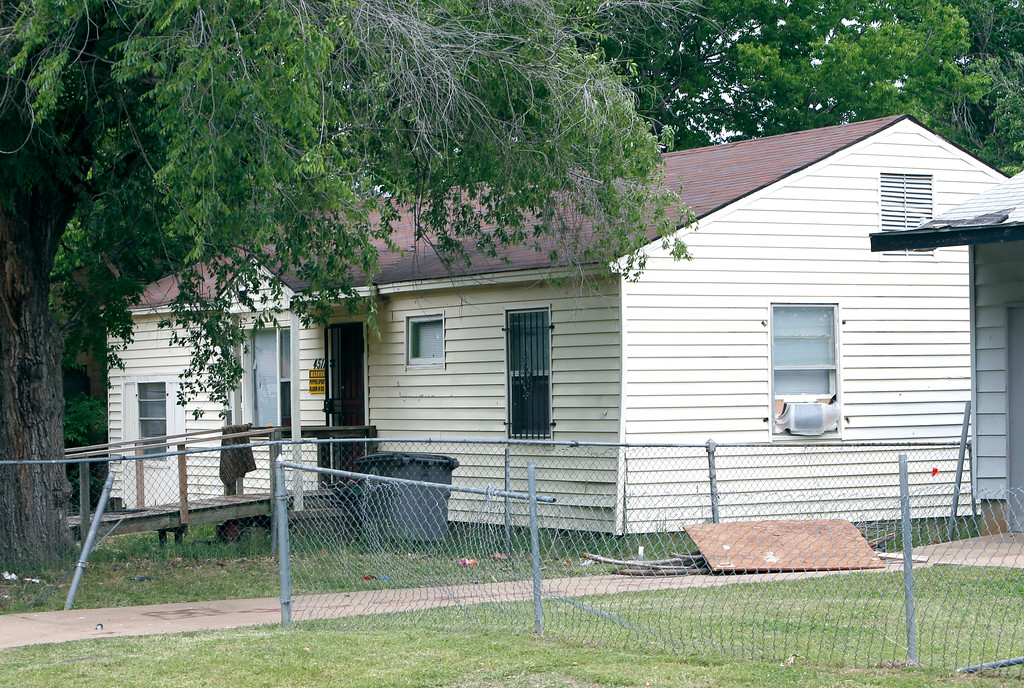 In Tulsa the home located at 4511 N. Johnstown Avenue is one of many rental properties two rental housing partners are arguing over in Tulsa County District Court battle.