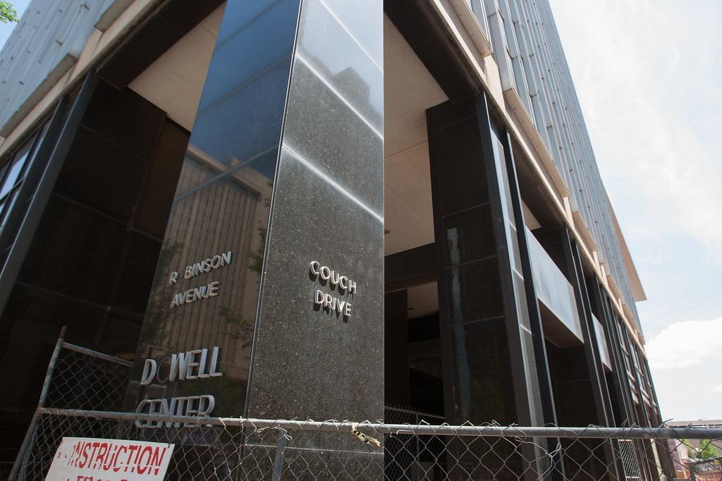 The Dowell center in downtown Oklahoma City.