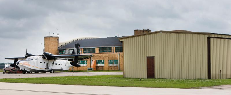 The Okmulgee Airport.