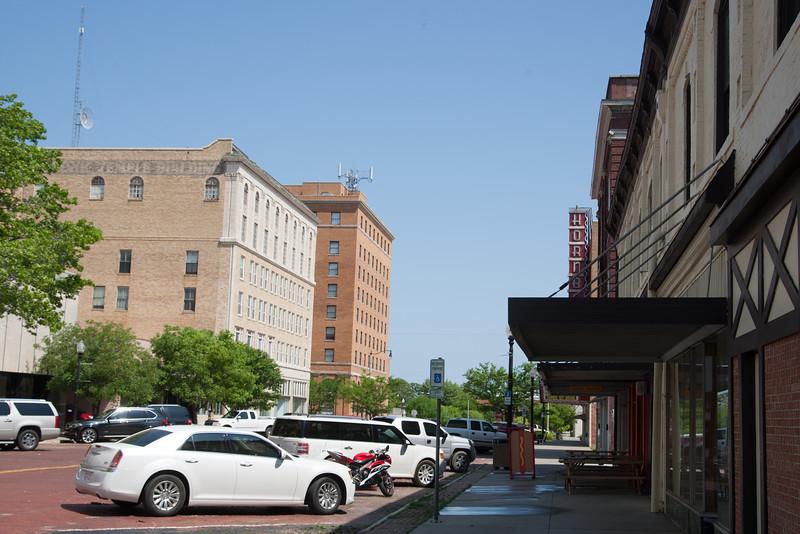 Downtown Shawnee, OK.