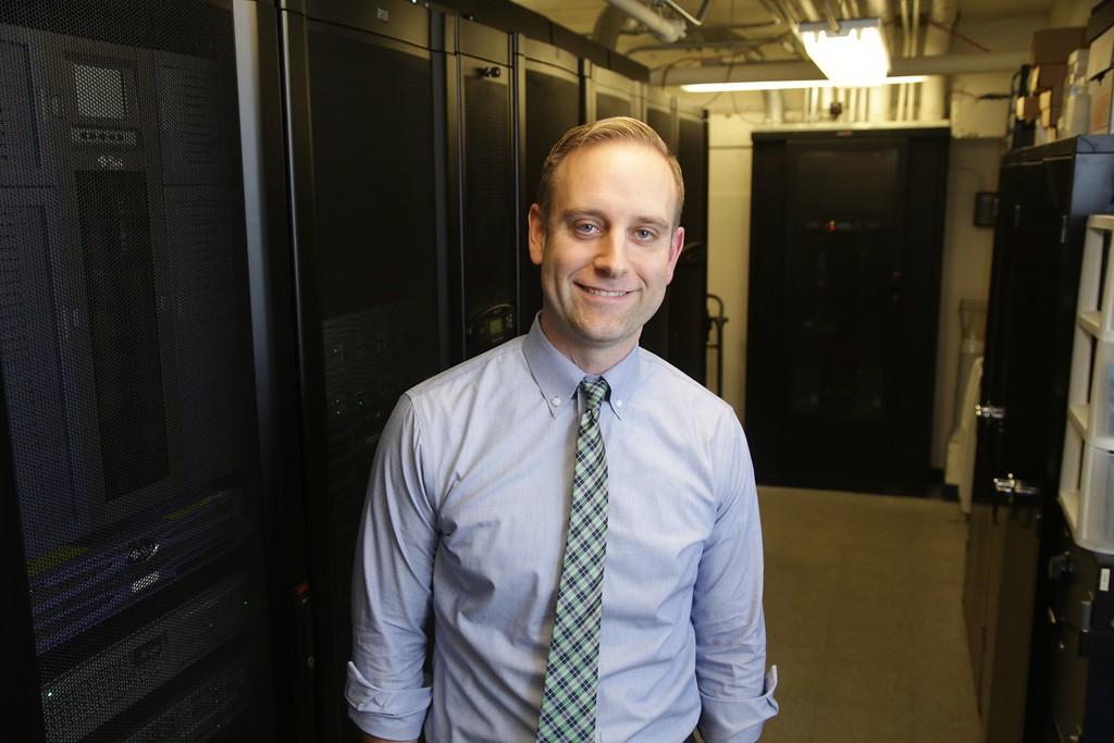 Jacob Dearmon, economics professor and director of the Center For Data Analytics at Oklahoma City University.