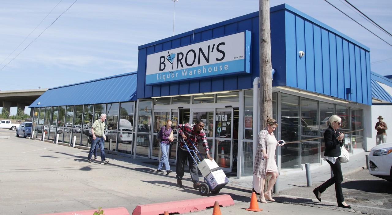 Byron's Liquor Warehouse at 2322 N Broadway in Oklahoma City, OK.