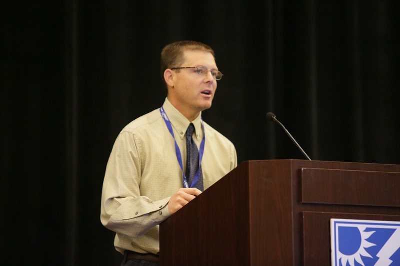 Todd Lindley, meteorologist with the National Weather Service office in Amarillo, TX.