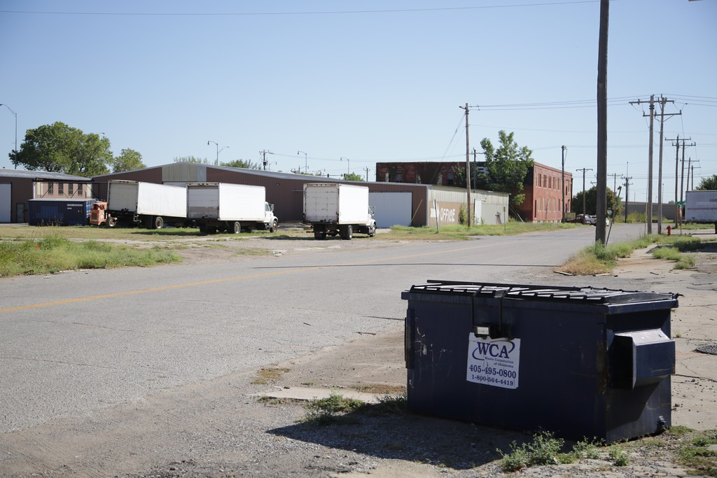 The City of Oklahoma City has proposed a site northwest of I-40 and Sheridan Ave. for a new convention center.