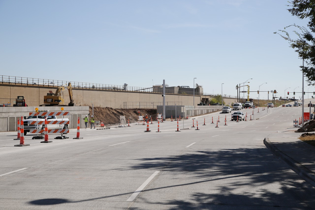 E.K. Gaylord Blvd between Reno Ave and I-40 has been reopen after being under construction for the past year.