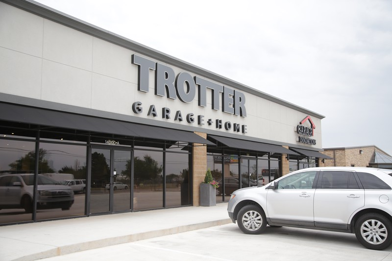 Trotter Garage and Home at 14000 N Santa Fe in Edmond, OK.