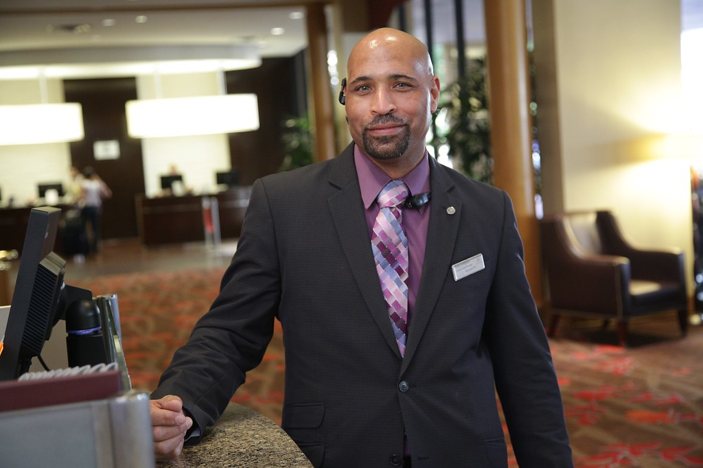 Gary LeBlanc is Guest Service Manager at the Sheraton Hotel in downtown Oklahoma City, OK.