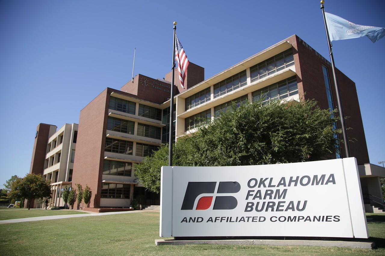 The Oklahoma Farm Bureau in Oklahoma City, OK.