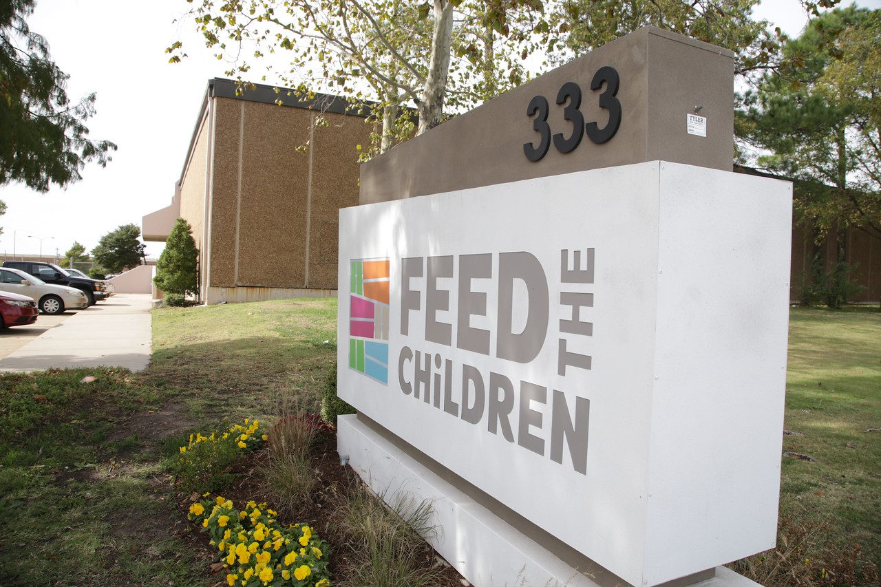 Feed the Children at 333 N Meridian in Oklahoma City.