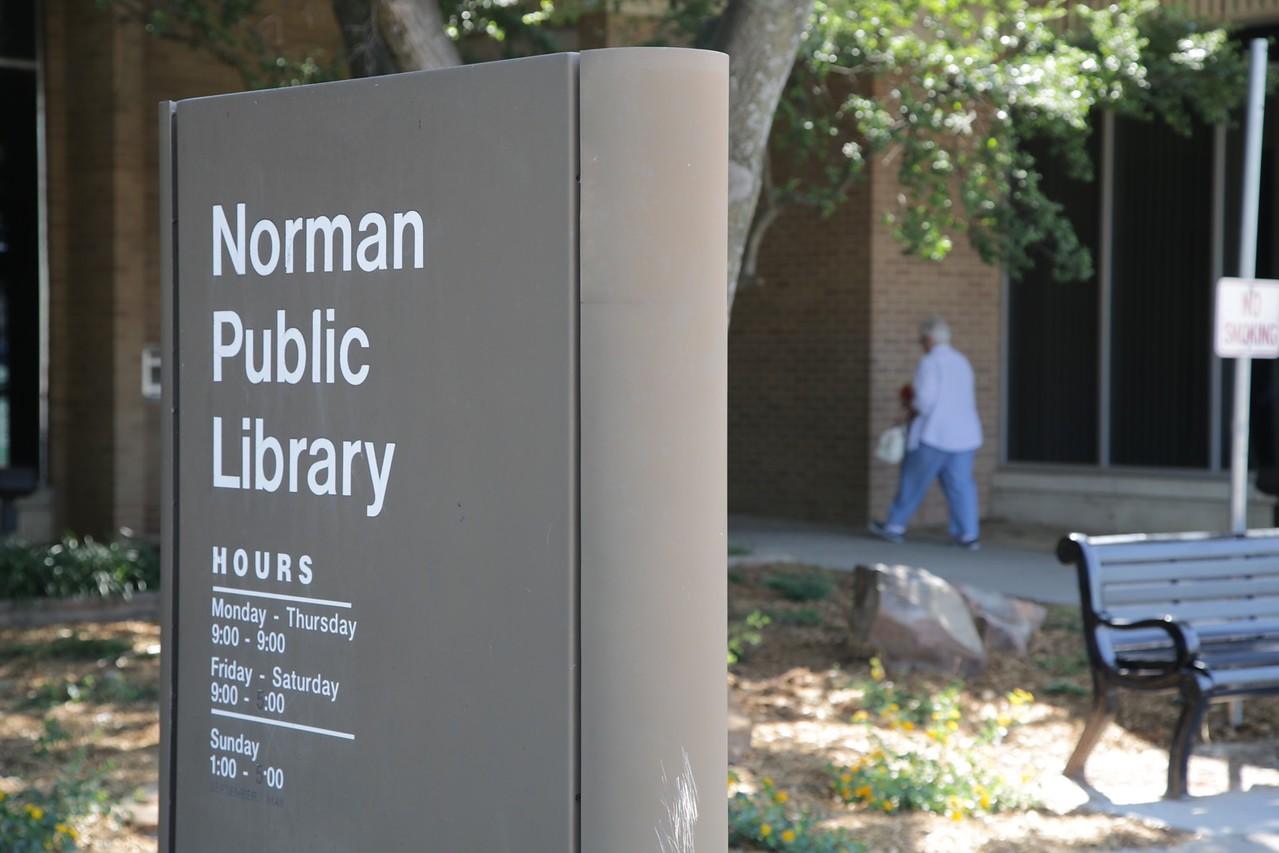The Borman Public Livrary in Norman, OK.
