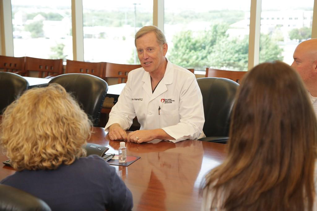 Dr. Richard Harvey is CEO of Oklahoma Heart Hospital at 4050 W Memorial Road in Oklahoma City, OK.