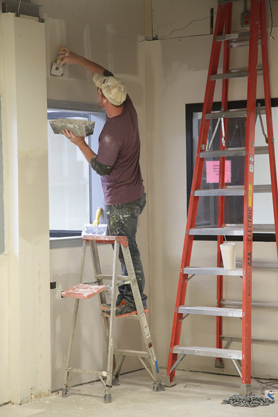The Oklahoma Blood Institute is undergoing renovations while maintaining operations in Oklahoma City.