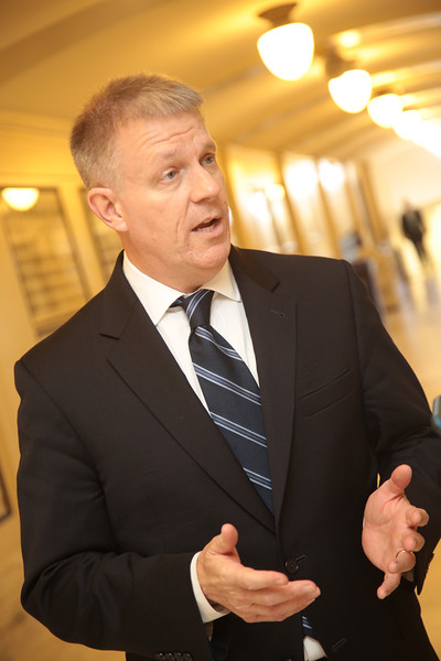 State Representative Kevin Calvey at the Oklahoma State Capitol in Oklahoma City, OK.