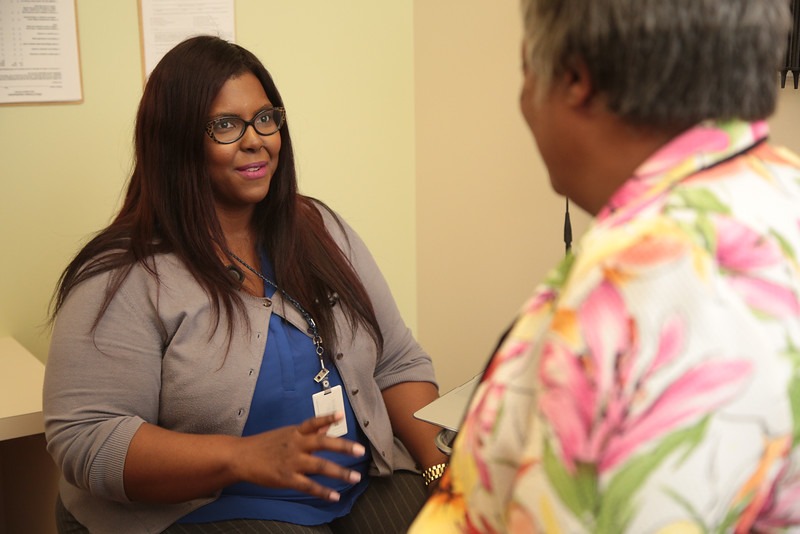 Dr Sheleatha Taylor-Bristow is a physician at the Mary Mahoney Memorial Health Center in Spencer, OK.