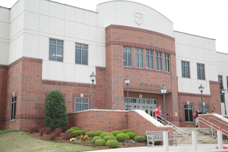 Crossings Christian Schools at 14900 N Portland in Oklahoma City, OK.