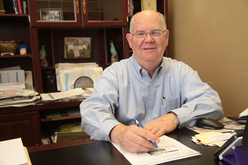 Kent Carter, Vice President with First Mortgage Campanybat 1004 24th Ave NW in Norman, OK.