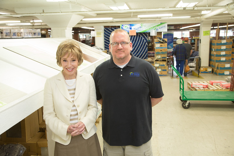 Central Oklahoma Habitat CEO and Chairman Ann Felton Gilliland and<br /> Corey Roberts, Director of Operations, Central Oklahoma Habitat ReStores.