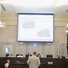 Real estate developer David Box resubmitting a building design to the City of Oklahoma City Board of Adjustments.