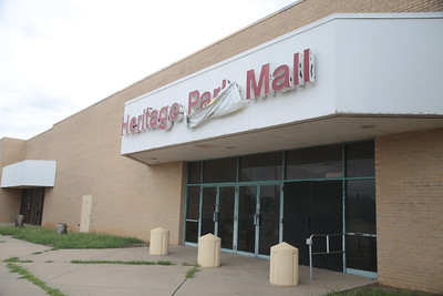 Hearitage Park Mall in Midwest City, OK.
