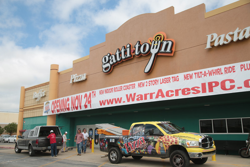 Incrediable Pizza is coming to the former location of Gatti Town located at 5833 Northwest Expressway in Oklahoma City.