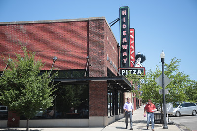 Hidaway Pizza in downtown Oklahoma City, OK.