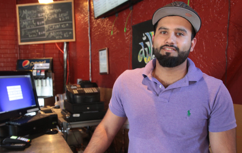 Qasim Naeem, owner of Sheesh Mahal located at 4621 N May in Oklahoma City, OK.