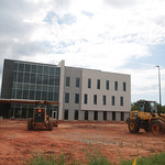 Construction at the Memorial Springs Medical Complex at Memorial Road and Santa Fe Ave in Oklahoma City.