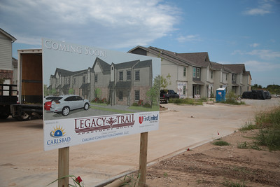 Legacy Trails Apartments is under construction at 24th Street NW and I-35 in Norman, OK.