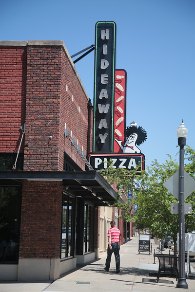 Hidaway Pizza in downtown Oklahoma City, OK.