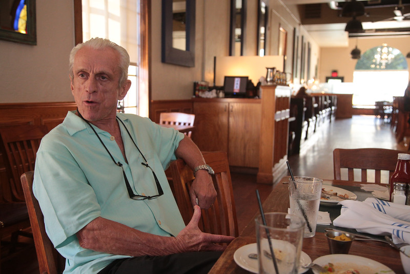 Jack Hooper, owner of Jax Soul Kitchen located at 575 S University Blvd in Norman, OK.