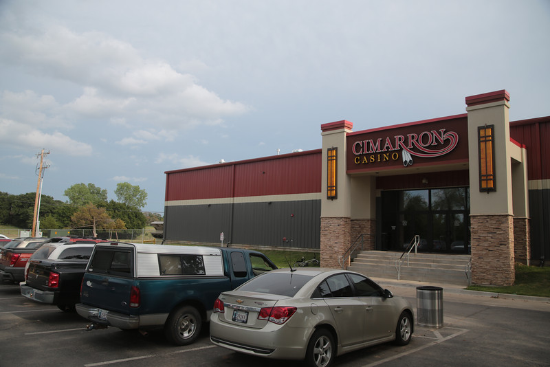 The Cimmaron Casino is run by the Iowa Tribe of Oklahoma and is located in Perkins.
