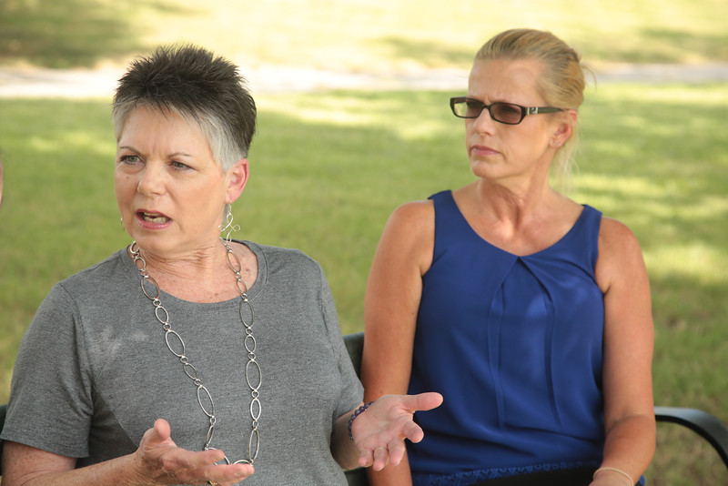 Francie Moss, who's daughter battles depression, Traci Cook, Executive Director of NAMI Oklahoma, discuss how chnges in mental health funding effects patients.