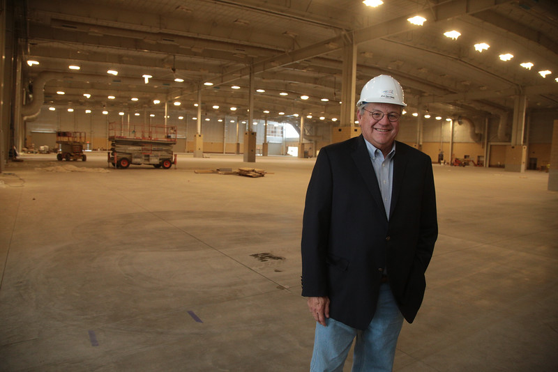 Tim O'Toole, President and CEO of the Oklahoma State Fair at the new Expo Center in Oklahoma City.