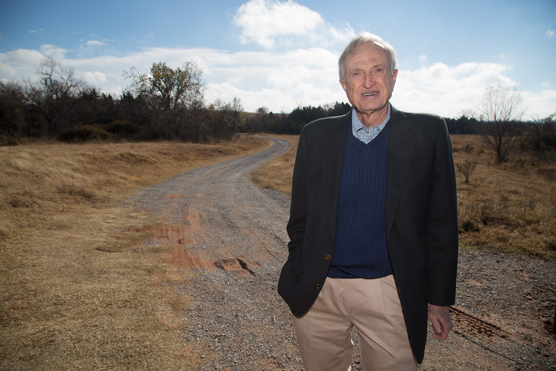 Roubert Crout, owner of Crout Companies Land Developers, wants the City of Oklahoma City to de-annex land so that the City of Mustang, OK can annex.