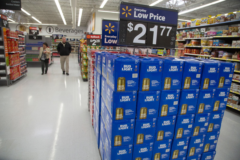 Beer at Belle Isle Wal-Mart located at 1801 Belle Isle Blvd in Oklahoma City.