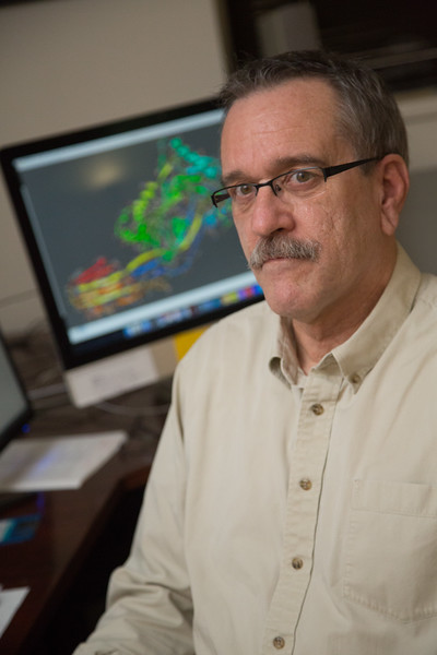 Rodney Tweten, Ph.D., Proffesor of Microbiology at OU Health Science Center, recieved a National Institute of Health grant to study bacteria.