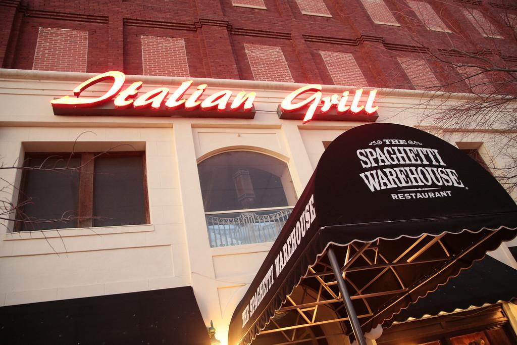 Spaghetti Warehouse at 101 E Sheridan in Oklahoma City's Bricktow district has permenently closed.