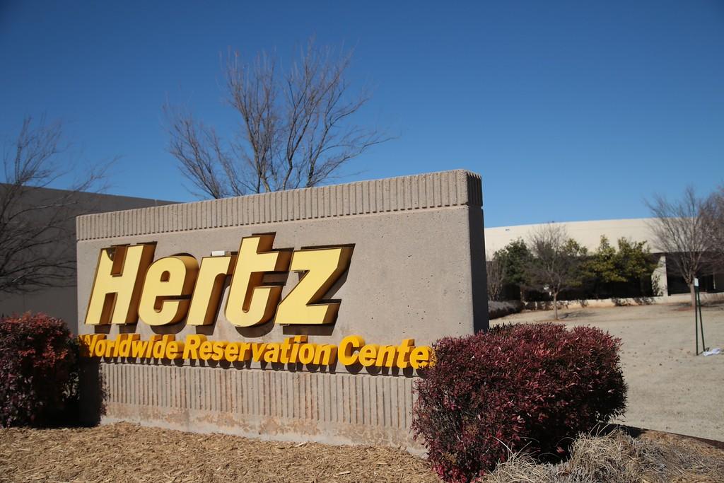 Hertz Reservation Center at 10401 N Penn in The Village' OK.