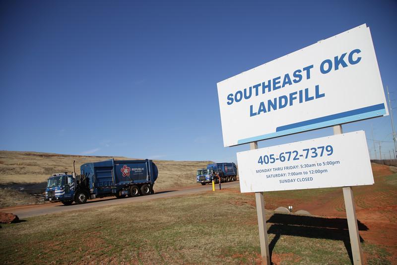 Southeast Landfill in Oklahoma City, OK.