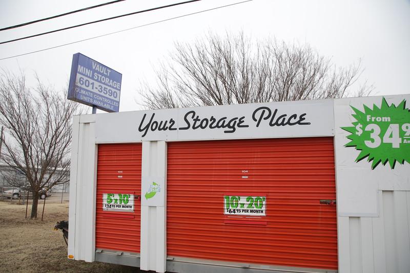Vault Mini Storage located at 7612 S Shields in Oklahoma City, OK.